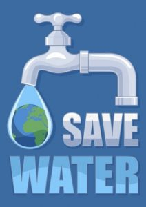 save-water-poster-template